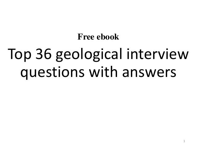 Top 36 geological interview questions with answers pdf free ebook top 36 geological interview questions with answers 1 fandeluxe Images