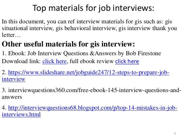 Top 36 gis interview questions with answers pdf