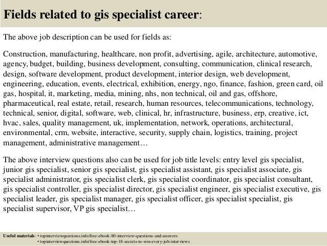 Gis Database Administrator Cover Letter - Db administrator cover letter