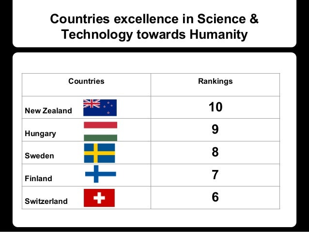 science is good for humanity