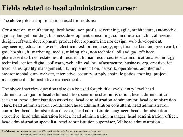 Amazing Healthcare Administration Job Description Photos - Best