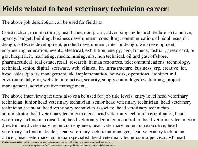 Vet Tech Job Description. Tech Resume Example Awesome Veterinary ...