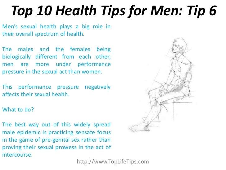 For men Tips