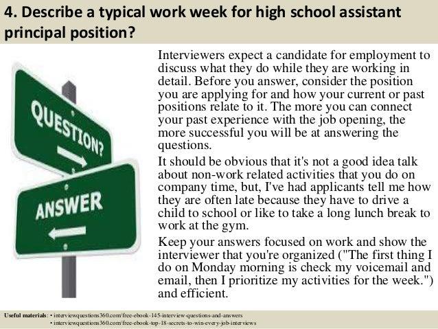 Top 10 High School Assistant Principal Interview Questions