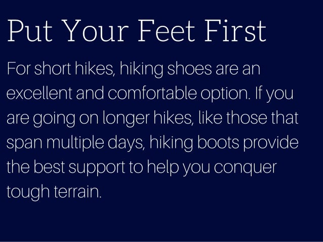 Top 10 Hiking Essentials To Start Strong And Stay Healthy Slide 2