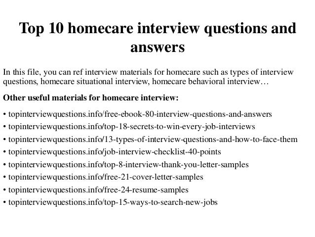 home health aide questions and answers
