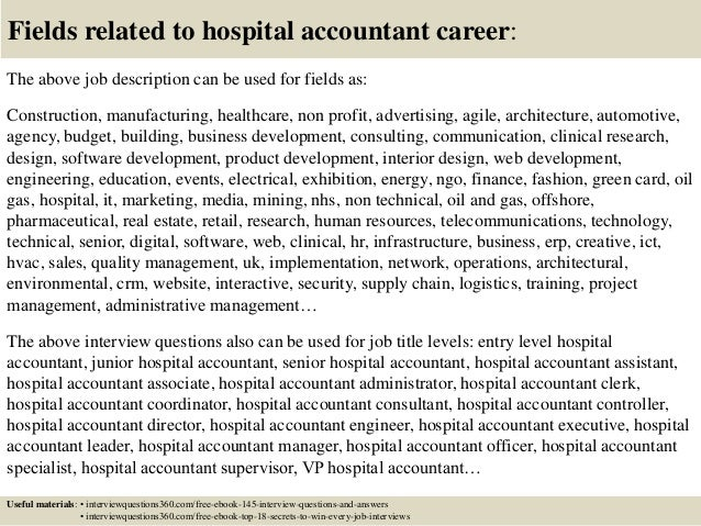 associate accountant job description