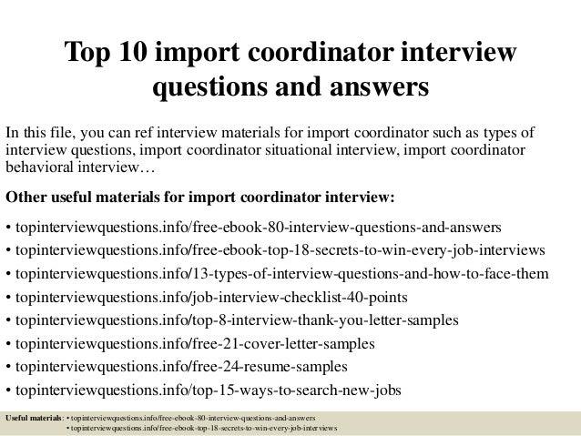 top10importcoordinator interviewquestionsandanswers1638jpgcb 1426796227 – Import Coordinator