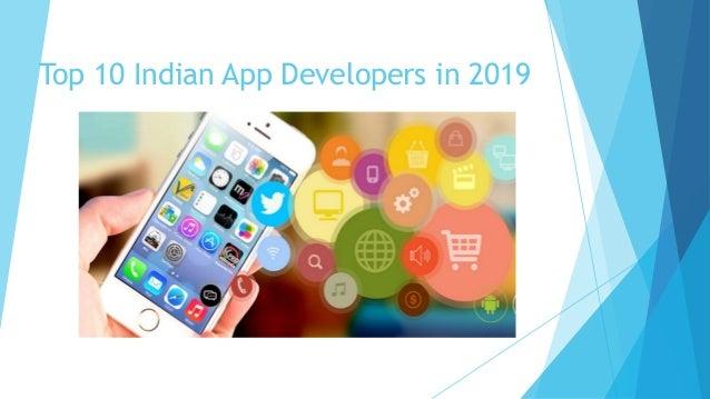Top 10 Indian App Developers in 2019