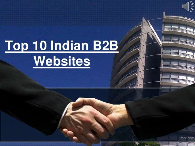 Top 10 Indian B2BWebsites