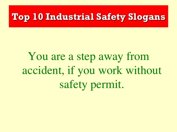 essays on industrial safety Best answer: hi arryan, creating a safe industrial world nowadays, all responsible industries recognise the duty of care they owe their employees taking all.