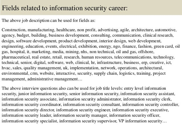 Top 10 Information Security Interview Questions And Answers