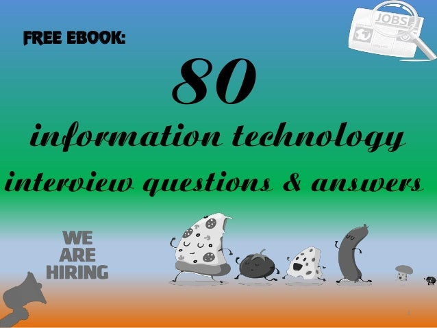 80 information technology interview questions and answers