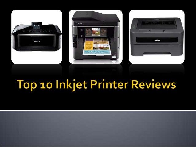 Top 10 inkjet printer reviews