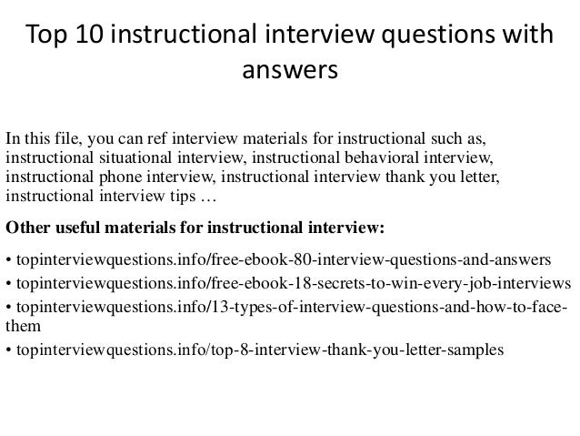 Instructional Assistant Interview Questions Akbaeenw