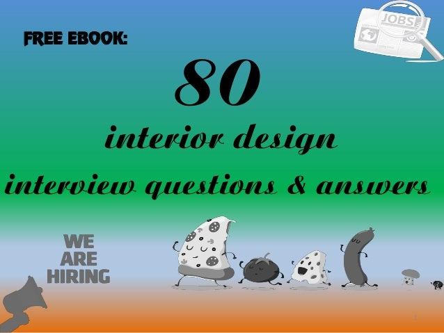 80 1 Interior Design Interview Questions Answers FREE EBOOK