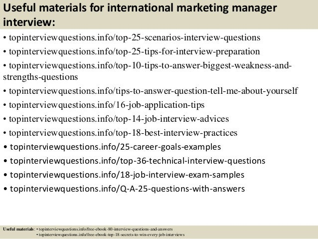 13 useful materials for international marketing manager - International Marketing Manager