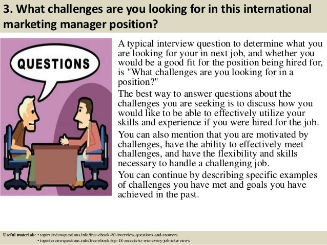 top 10 international marketing manager interview questions and answers - Marketing Manager Interview Questions And Answers