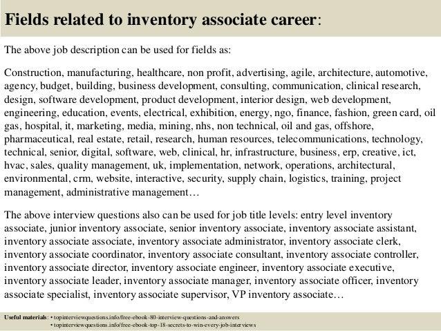 cross - Inventory Associate