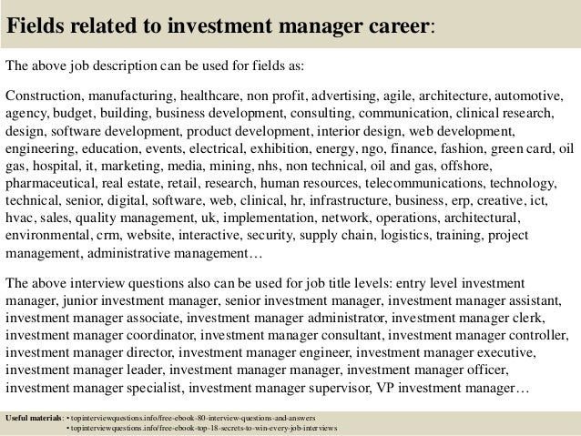 interview questions for private wealth management Free ebook top 52 wealth manager interview questions with answers 1.
