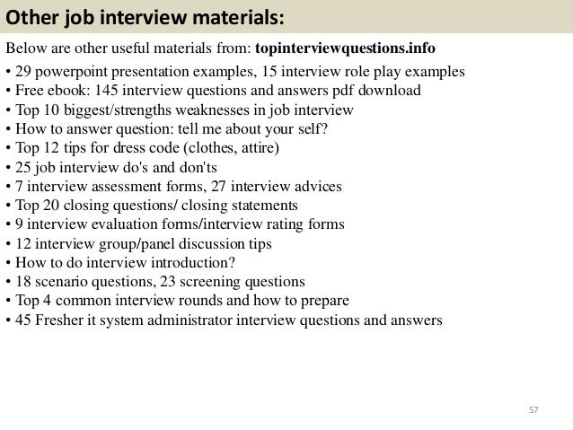 system administrator interview questions and answers for freshers pdf