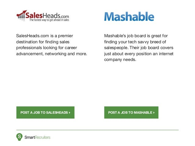 Top 10 Job Boards for Recruiting & Hiring Salespeople