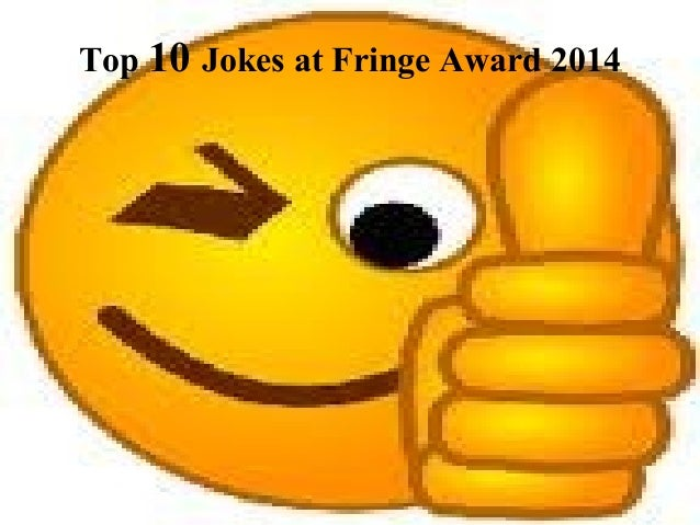 Top 10 Jokes at Fringe Award 2014