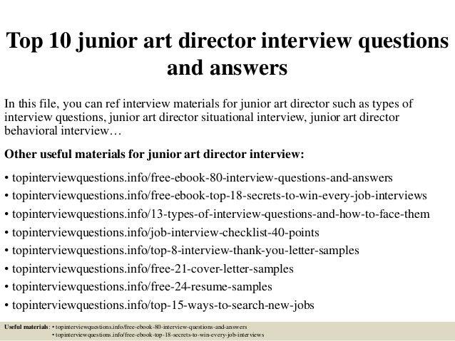 Art director resume sample