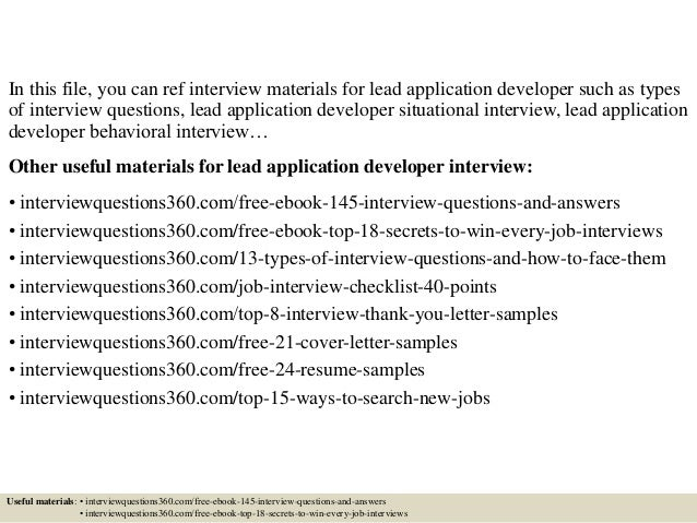 Best Web Developer Cover Letter Examples For The IT Industry Best