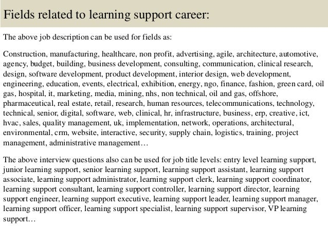 1 1 describe how a learning support Information to assist school districts and their communities in creating well-planned, k-12 learning environments in safe what's new in learning support.