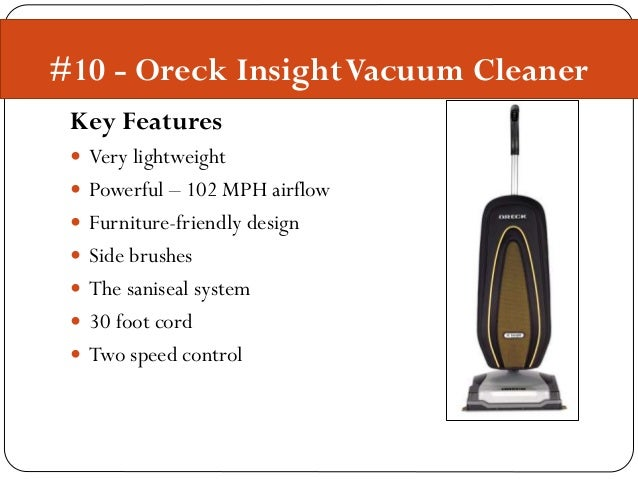 Top 10 Lightweight Vacuum Cleaners
