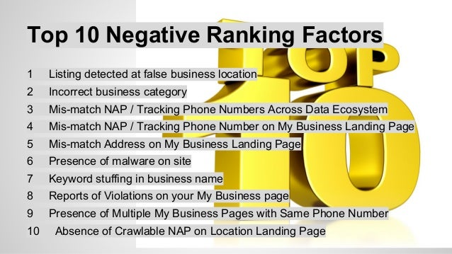 10 Factors That Have Increased in  Importance Since Pigeon  1 Domain Authority of Website  2 Proximity of Address to the P...
