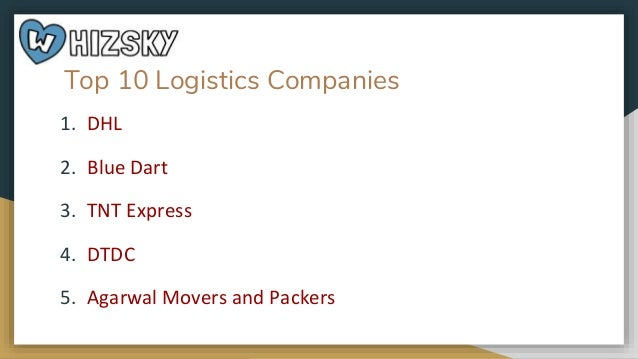 Top 10 logistic companies in India
