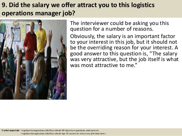 Top 10 logistics operations manager interview questions and