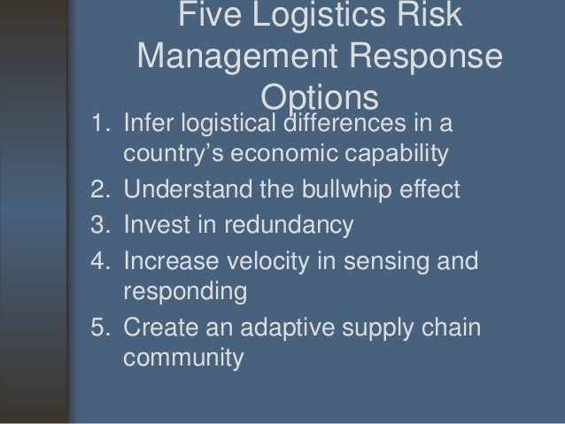 risk management for supplier global expansion plan Attaining superior supply chain planning and optimization capabilities has become a necessity for survival in today's highly competitive global leveraging three decades of experience, tapestry solutions is a global provider of information management software and services for defense, government and commercial.