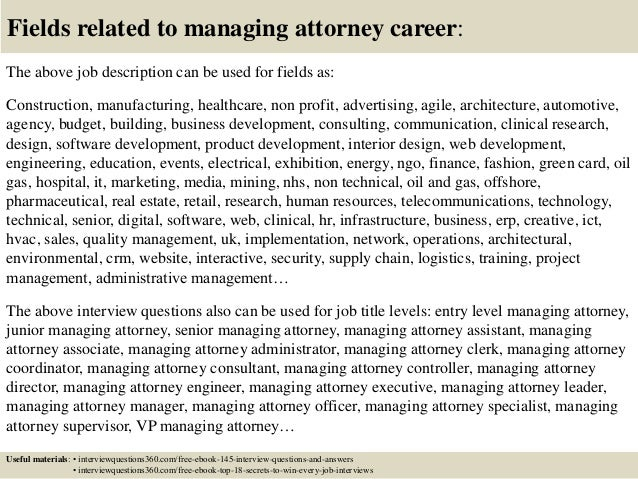 Managing Attorney Cover Letter General Manager Cover Letter - Managing attorney cover letter