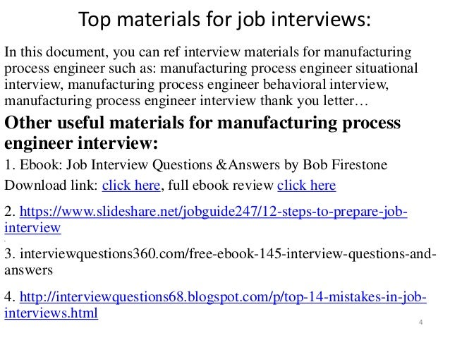 Top 20 Manufacturing Production Interview Questions & Answers