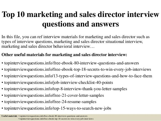 national sales coordinator interview questions and answers