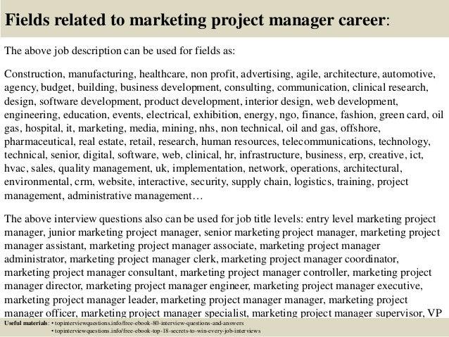 Powerpoint Creator Marketing Program Manager Job Description