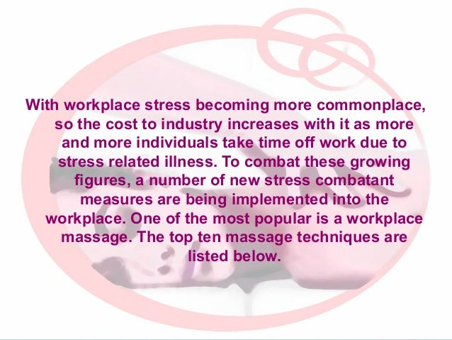 With workplace stress becoming more commonplace, so the cost to industry increases with it as more and more individuals ta...
