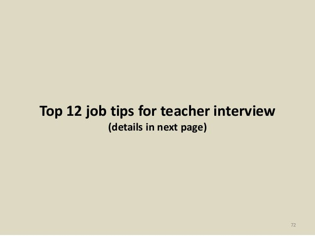 Top 32 maths teacher interview questions and answers pdf