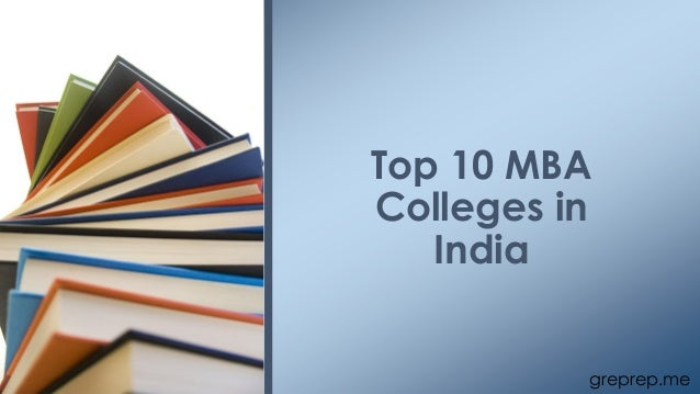 greprep.me Top 10 MBA Colleges in India