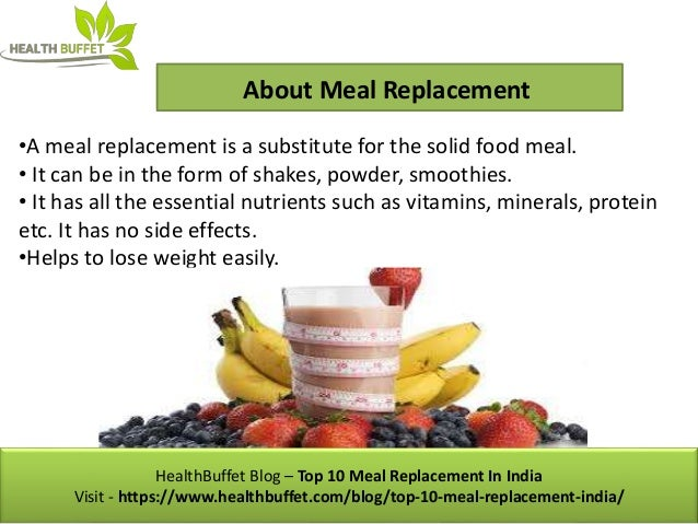 Top 10 Meal Replacement In India