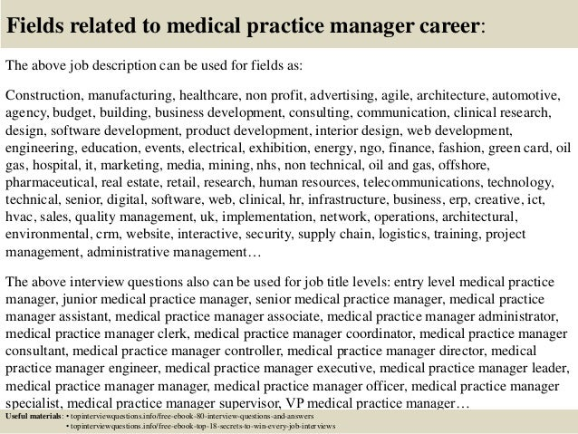 Top 10 Medical Practice Manager Interview Questions And Answers
