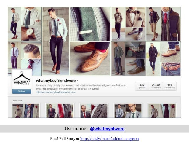 10 Insanely Cool Menu0026#39;s Fashion Instagram Accounts Every Man Should Fou2026