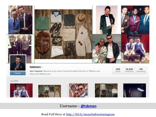 10 Insanely Cool Men's Fashion Instagram Accounts Every ...
