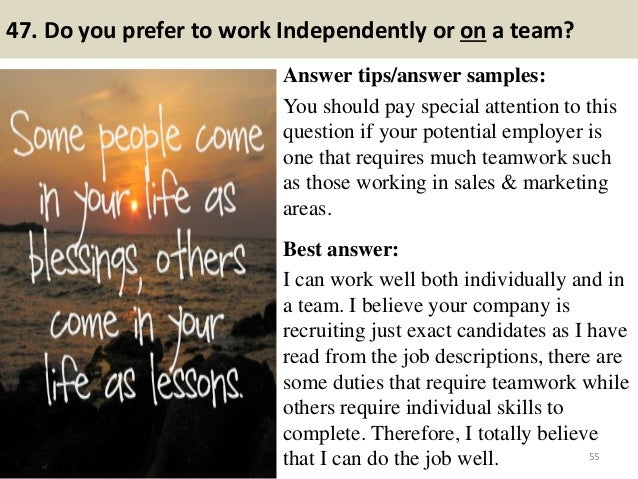 Interview Questions What Parts Country Offer Best Opportunities This Field
