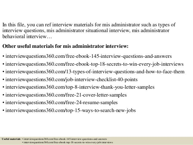 top 10 mis administrator interview questions and answers - Linux Administrator Interview Questions And Answers