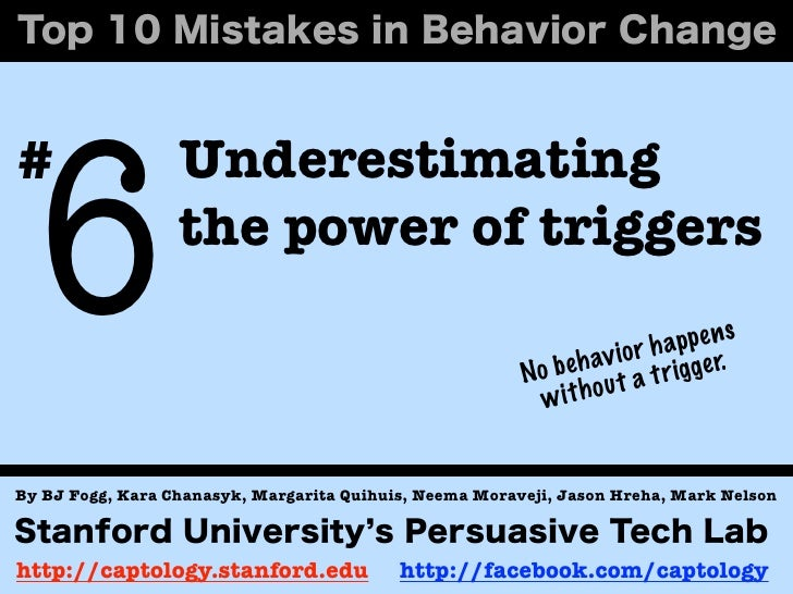 6#                 Underestimating                  the power of triggers                                                 ...