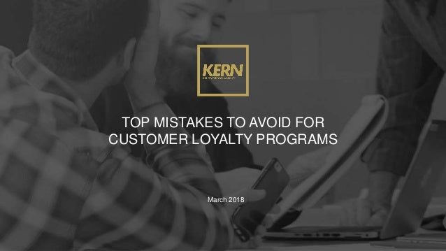 top 10 mistakes to avoid for customer loyalty programs